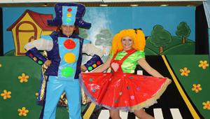 ארץ התמרורים הקסומה - הצגה מוזיקלית לילדים